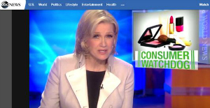 Toxic Chemicals in your beauty products. News Video from ABC news with Diane Sawyer.